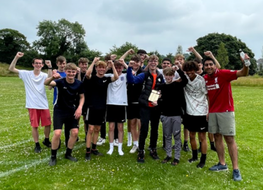 6th Form Charity Football