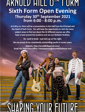 6th Form Open Eve 2021small
